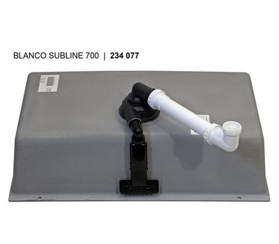 Мойка BLANCO SUBLINE 800-U Silgranit