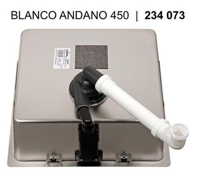 Мойка BLANCO ANDANO 450-IF Infino    522961