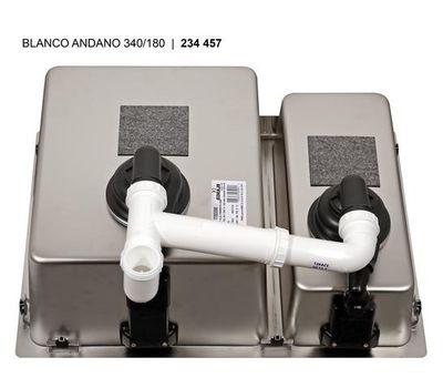 Мойка BLANCO ANDANO 340/180-IF левая (без клапана-автомата)  522975