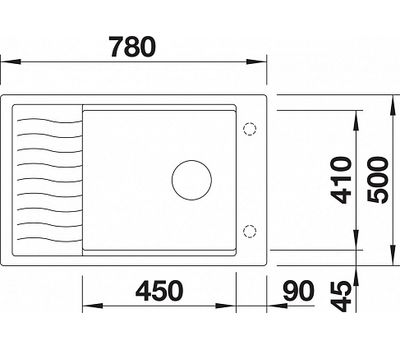 Мойка BLANCO ELON XL 6 S (оборачиваемая)  арт. 524839
