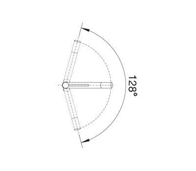 Смеситель BLANCO ALTA-S Compact (хром)