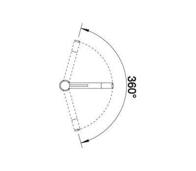 Смеситель BLANCO ALTA (хром) 512319