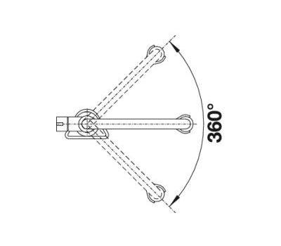 Смеситель BLANCO CULINA-S Mini (нержавеющая сталь)