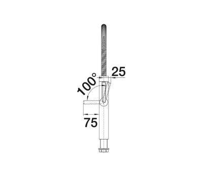 Смеситель BLANCO CULINA-S (хром) 517597