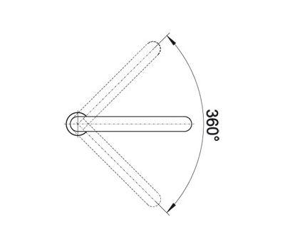 Смеситель BLANCO ELOSCOPE-F II (хром) 516672