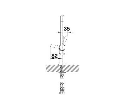 Смеситель BLANCO JURENA (хром) 520764