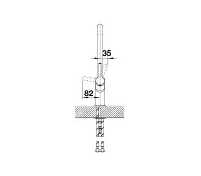 Смеситель BLANCO JURENA-S (хром)