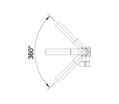 Смеситель BLANCO LEVOS-S (сталь с зеркальной полировкой)  арт. 514918
