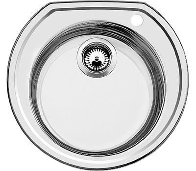 Кухонная мойка Blanco Rondoval нержавеющая сталь матовая 513312