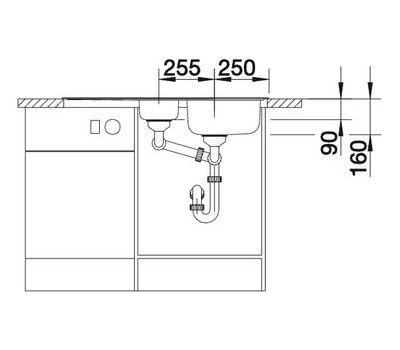 Мойка BLANCO TIPO 6 S Basic (оборачиваемая) 512303