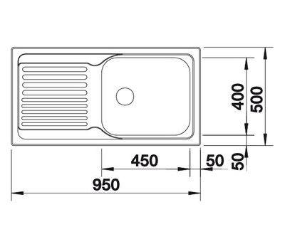 Мойка BLANCO TIPO XL 6 S (оборачиваемая)