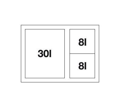 BLANCO SELECT 60/3 XL Orga