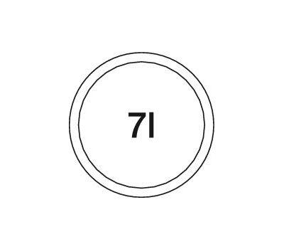 BLANCO SOLON-IF в один уровень 30 см
