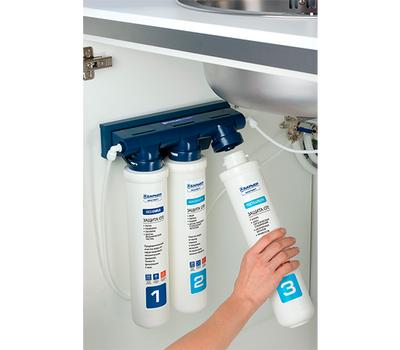 Комплект смеситель Blanco Fontas II (хром) + BWT Барьер Expert Standart